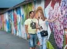 Прогулка в Питере Графити