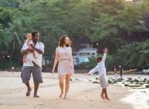 Семейная фотосессия в отеле Таиланда
