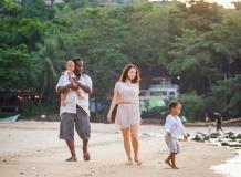Детская фотосессия в отеле Таиланда