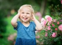 Прогулочная детская фотосессия