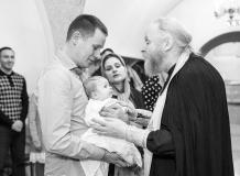 Профессиональная фотосъемка Таинства Крещения в Санкт-Петербурге