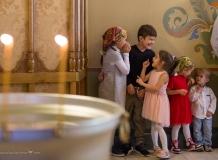 Фотографии Таинства Крещения из Храма Успения Богородицы на Лейтенанта Шмидта