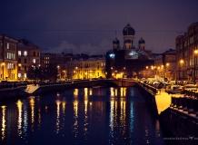 Достопримечательности Санкт-Петербурга ночью