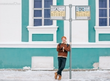 Фотосессия на Стрелке Васильевского острова
