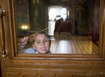Дети на Таинстве Крещения. Церковь Успения Богоматери, Санкт-Петербург