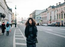 На Зеленом мосту в Санкт-Петербурге