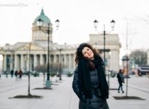 Портреты на фоне Петербурга