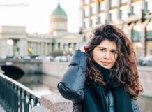Портреты на фоне Санкт-Петербурга
