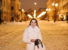 Ночная Фотосессия у Академии имени Штиглица