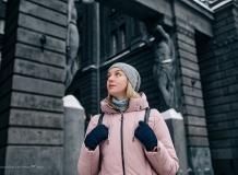 Фотосессия у дома Веге в Петербурге, дом Шнура