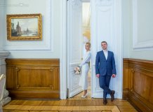 Фотосессия регистрации брака в Санкт-Петербурге