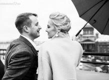Прогулочная свадебная Фотосессия в Санкт-Петербурге