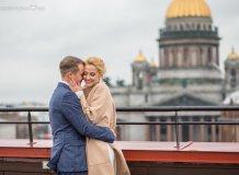 Свадебная Фотосессия на крыше в Санкт-Петербурге