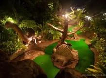 Динозавры на территории Дино Парка
