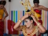 Подготовка к тайскому танцу