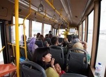 Внутри тур.автобуса в Путраджае