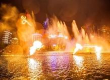 Танцующие фонтаны в Макао
