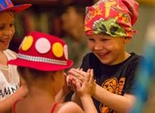 Детское выступление на Пхукете