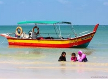 Парк Таманг Негара. Monkey Beach.
