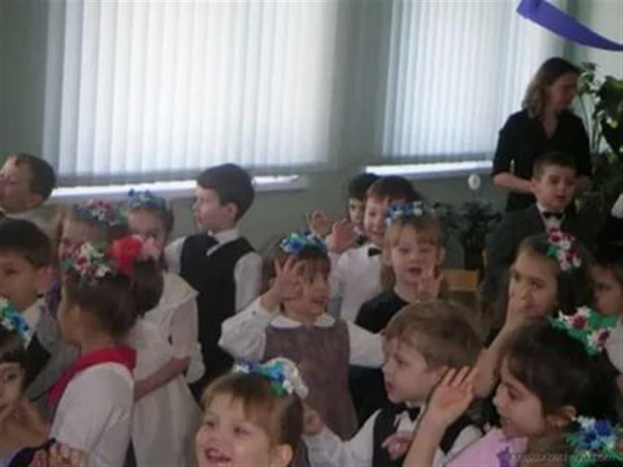 Утренник в украинском детском саду