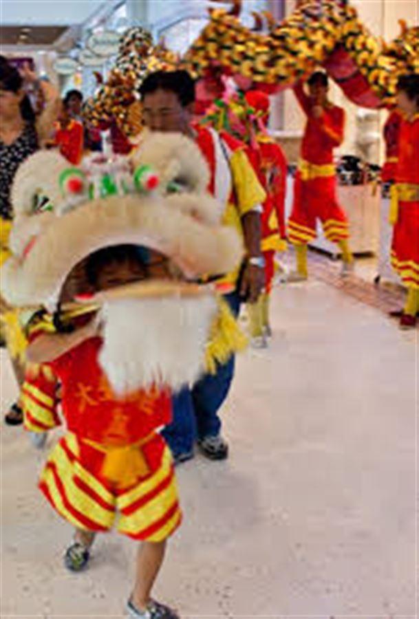 Китайский новый год в торговом центре