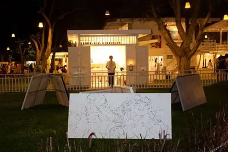 Выставка-продажа картин на Цикаде