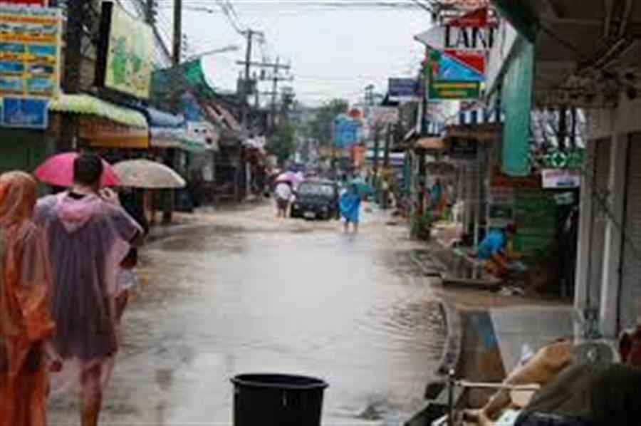 Следующий день после наводнения на Самуи