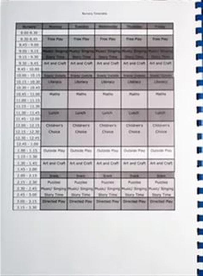 Расписание занятий английского садика