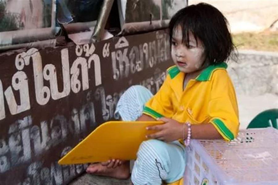Еще одна тайская девчушка