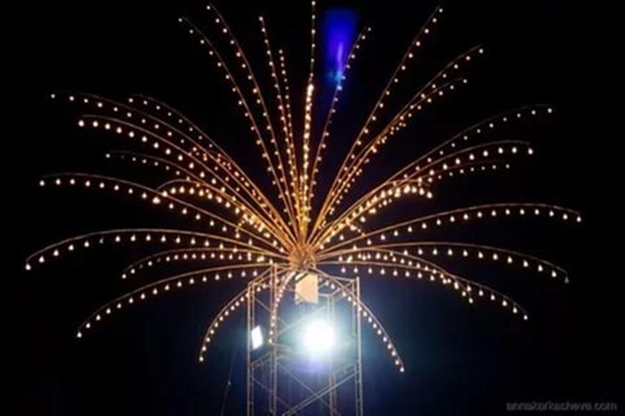 Освещение на концерте ;)