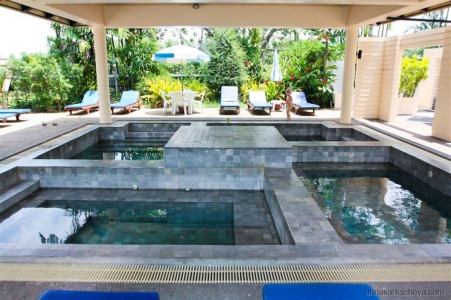Термальные ванны в Tinidee Hotel в Ранонге