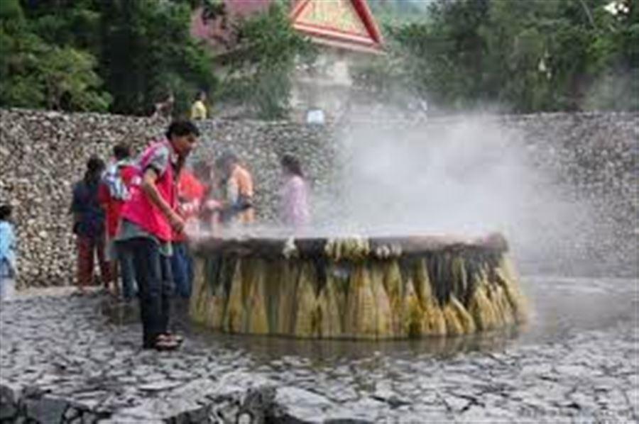 Термальные ванны в Ранонге