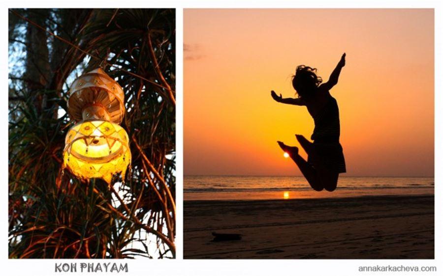 Sunset at Koh Phayam