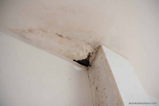Дыра в потолке