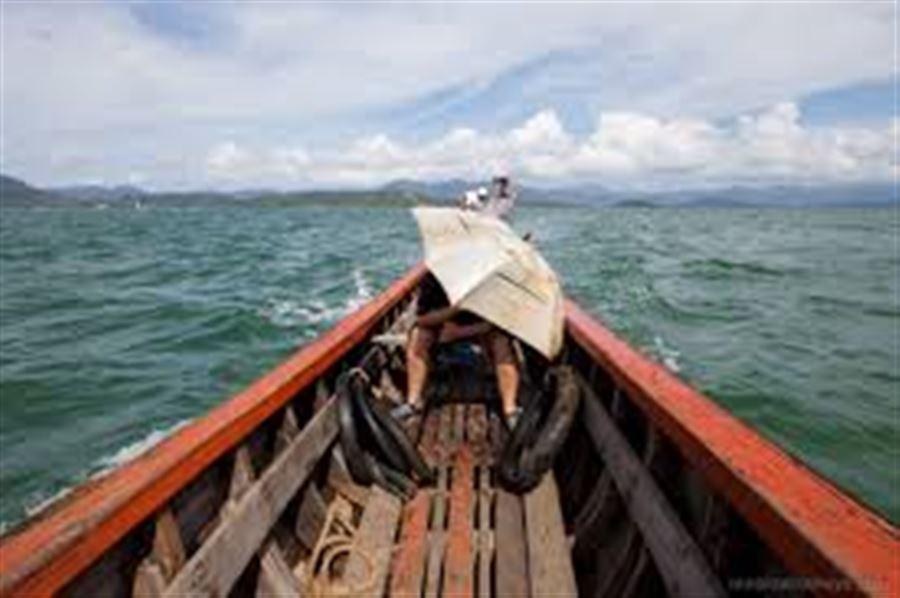На лодке Ранонг-Бирма