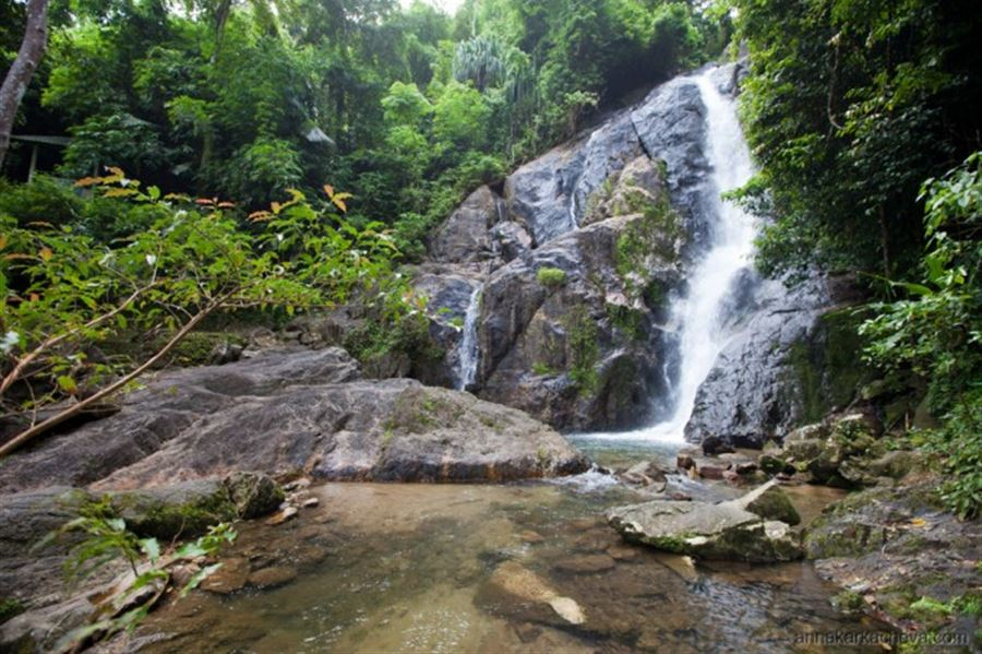 Punyaban Waterfall Ranong