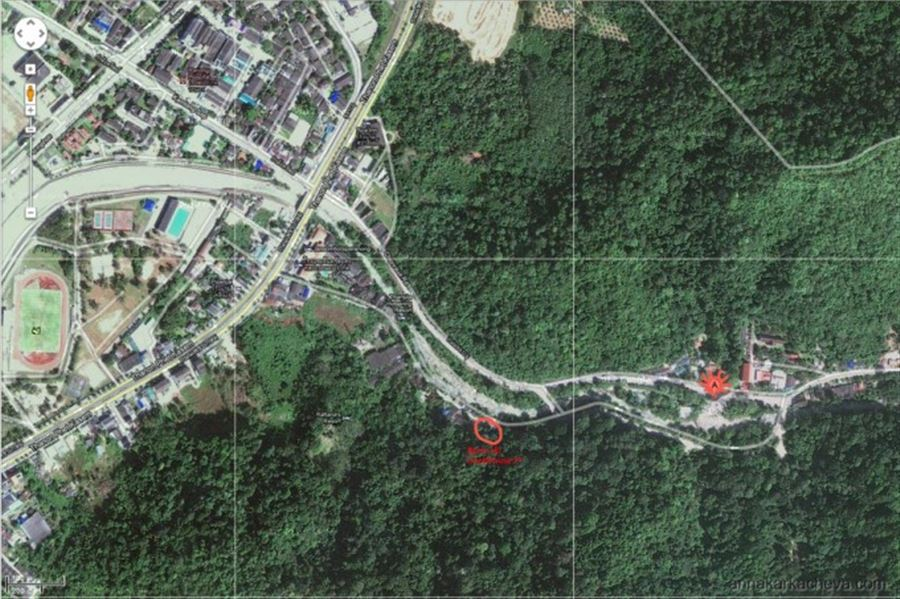 Raksawarin Public Park and Hot Springs Map