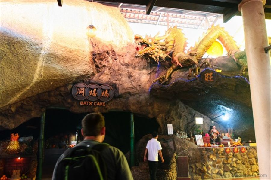 Bat's Cave Temple. Penang