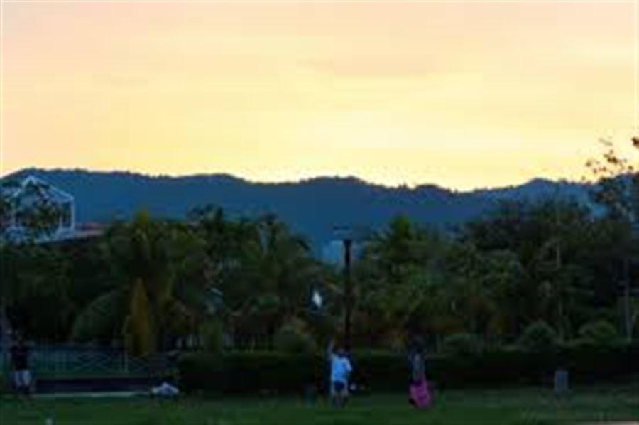 Закат на Пенанге