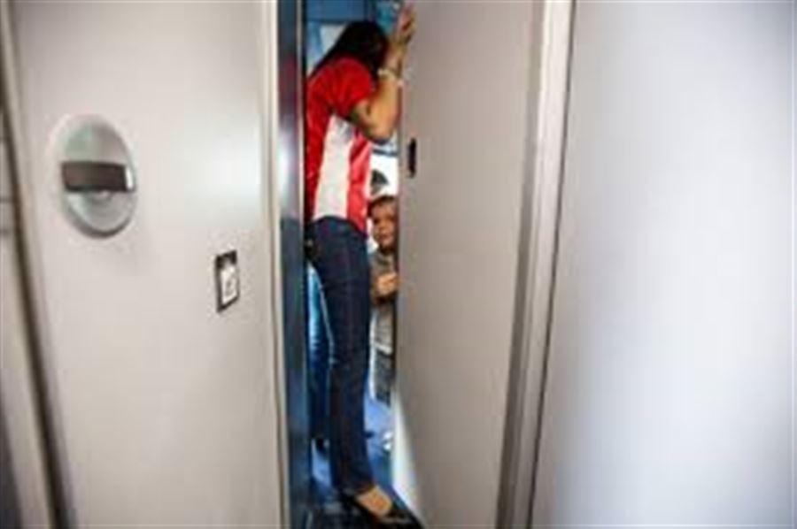 В кабине самолета Air Asia