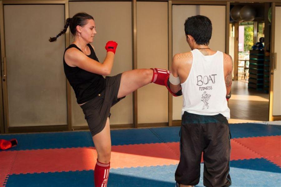 Тренировка. Бокс