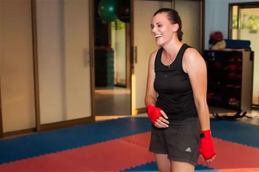 Фото девушки попы в боксе 27 фотография