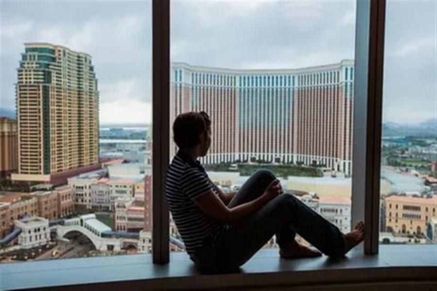 Вид из номера в отеле HardRock Macau