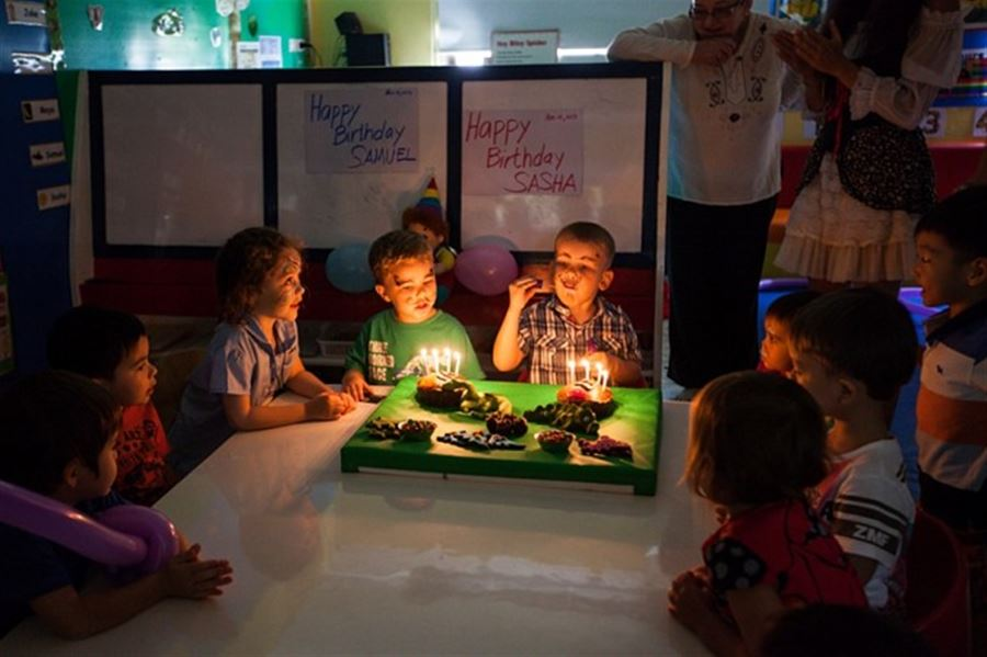 Sasha's Birthday at HeadStart School