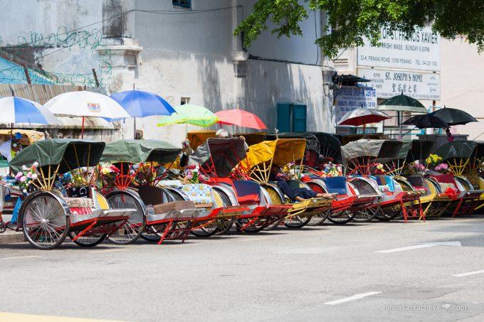 Велорикши Пенанга