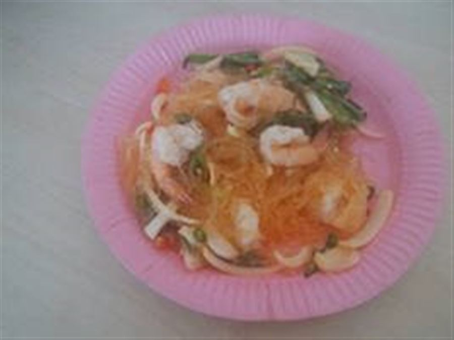 Glassnoodle Seafood Salad