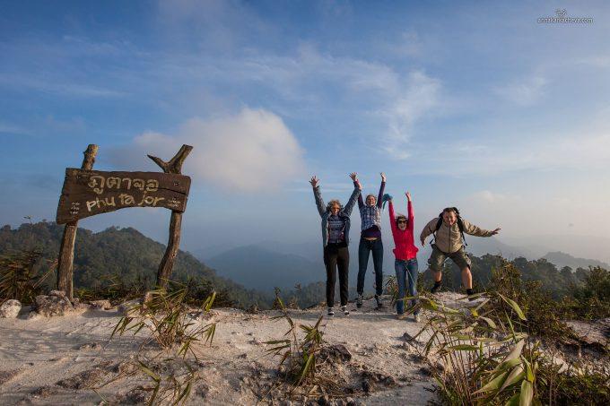 Гора Тумана в Пханг Нге