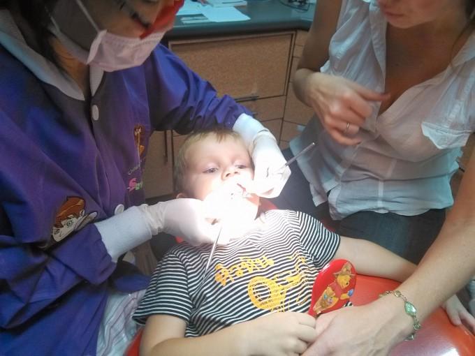 Первый поход к стоматологу