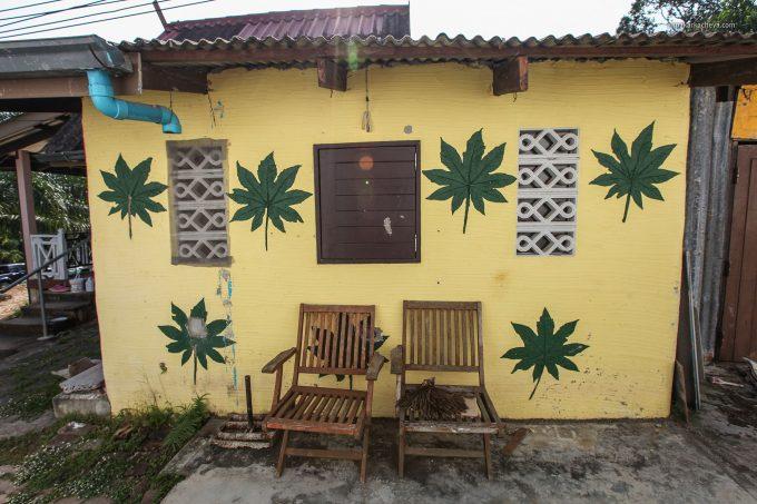Отель на реке в Пханг Нга