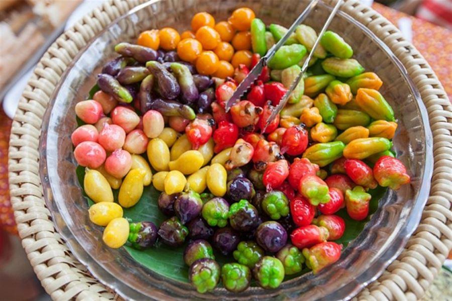 Luk Choop - тайский десерт